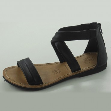 SANDAL NAPPA BLAC MICRO BOTTOM