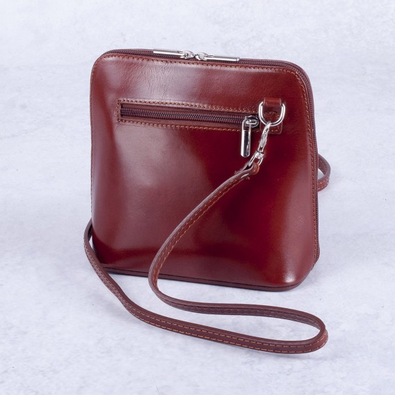 Small shoulder bag in Leather 18.5X8.5 H17