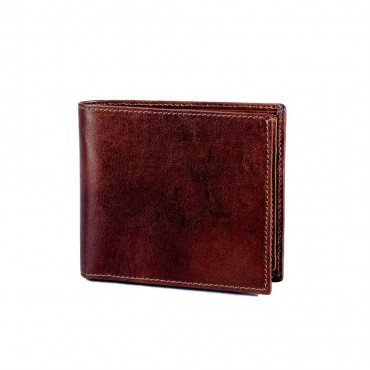 2 FOLD LEATHER WALLET FOR MEN