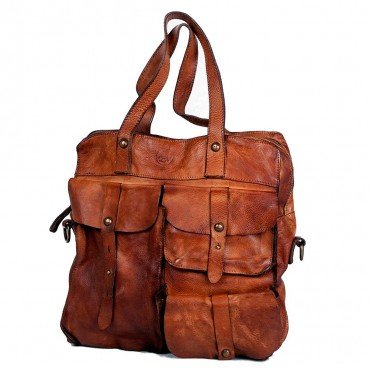 BIG BAG UNISEX, SOFT LEATHER