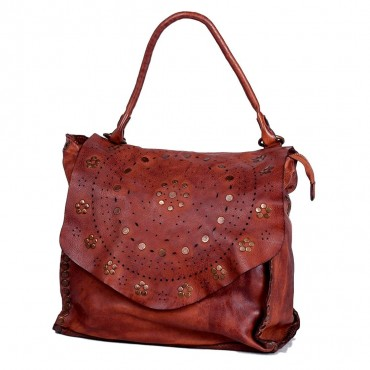 BAG FLOWER, SOFT LEATHER