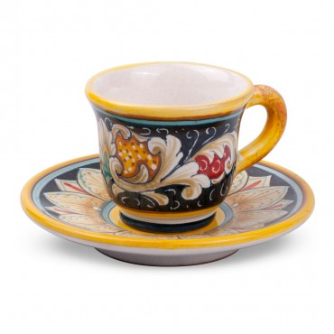 COFFEE CUP 'WITH SAUCER DN