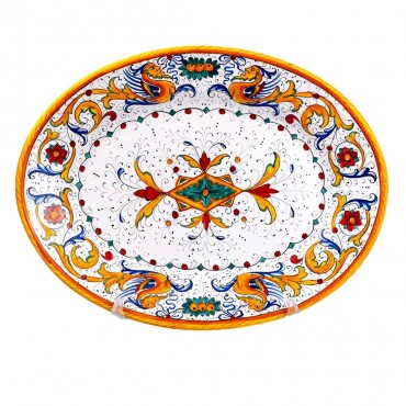 OVAL TRAY RAFFAELLESCO