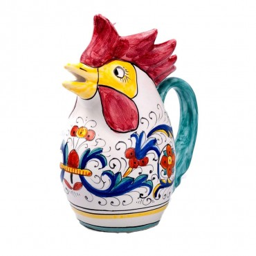ROOSTER MEDIUM PITCHER ½ RICCO DERUTA