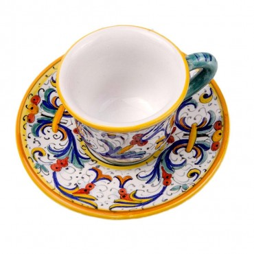 COFFEE CUP WITH SAUCER RICCO DERUTA
