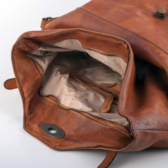 PATTY BAG IN SOFT LEATHER 14x43 H32 cm