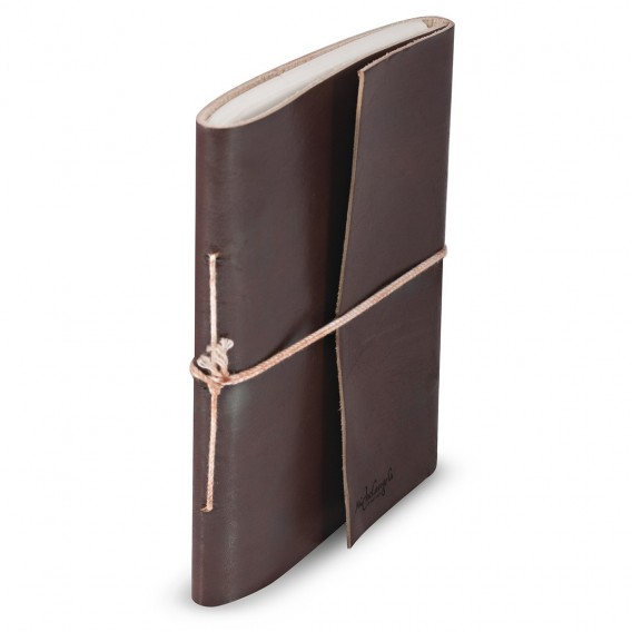 VENICE JOURNALS IN LEATNER 1x13.5 H18 cm, Inc 0.4x5.3 H7.1