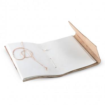 VENEZIA JOURNALS IN PELLE 1x13.5 H18 cm