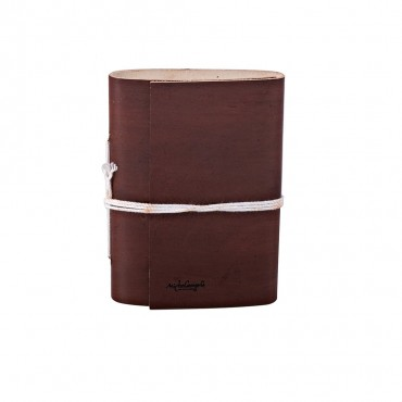 VENICE JOURNALS IN LEATHER 1x9 H13.5 cm, Inc 0.4x3.54 H5.3