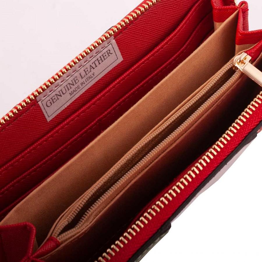 negozio online 1c28c ceac5 PORTAFOGLIO DONNA GRANDE IN PELLE 2.6x10 H19.5 cm