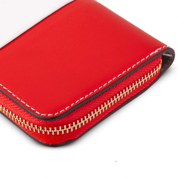 LARGE WOMAN WALLET IN LEATHER 2.6x10 H19.5 cm