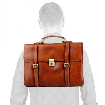 BUSINESS BRIEFCASE CONVERTIBLE BACKPACK