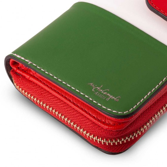 LARGE WOMAN WALLET IN LEATHER 3.5x10 H19.5 cm