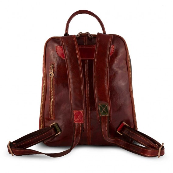 RODI BACKPACK IN LEATHER 32x10 H38 cm