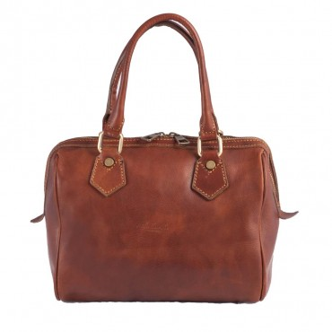 SMALL TRUNK BAG SIDNEY, BROWN