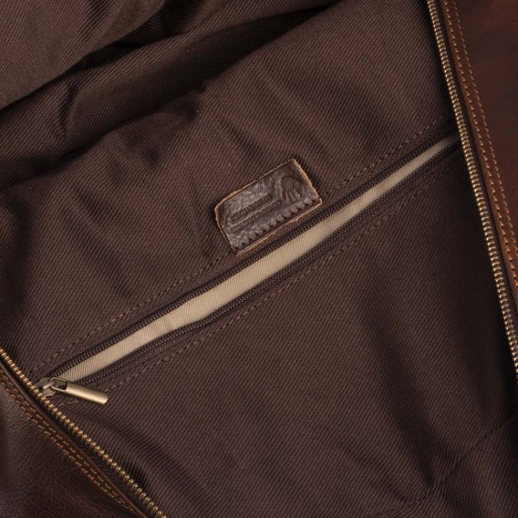 TRAVEL BAG WITH EXTENDABLE HANDLES LEON