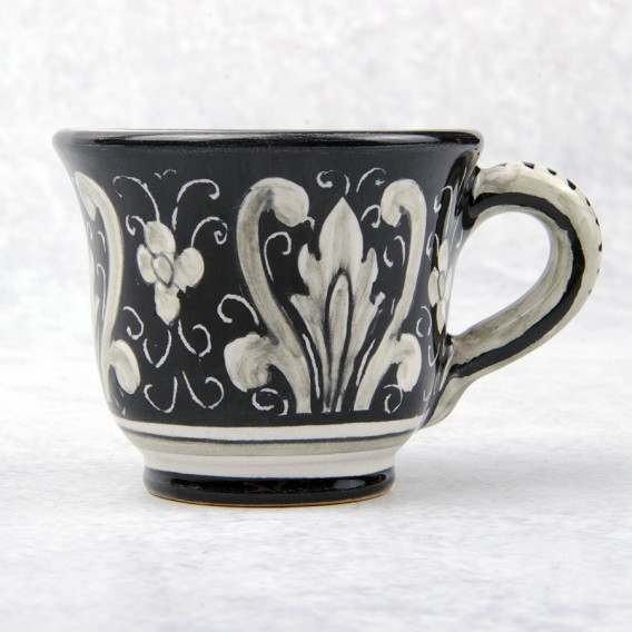COFFEE CUP 'WITH SAUCER C2 NERO