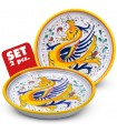 Set: 2 COASTER RAFFAELLESCO